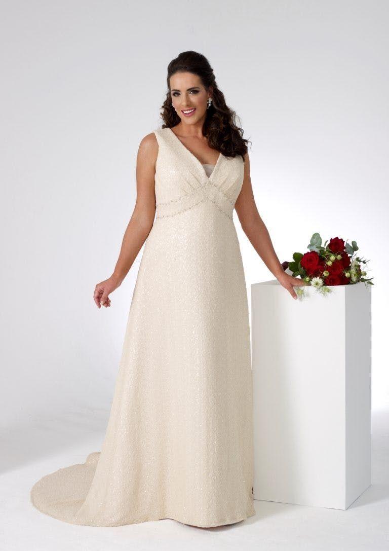 wedding dress casual Beautiful Wedding Dresses for Older Brides