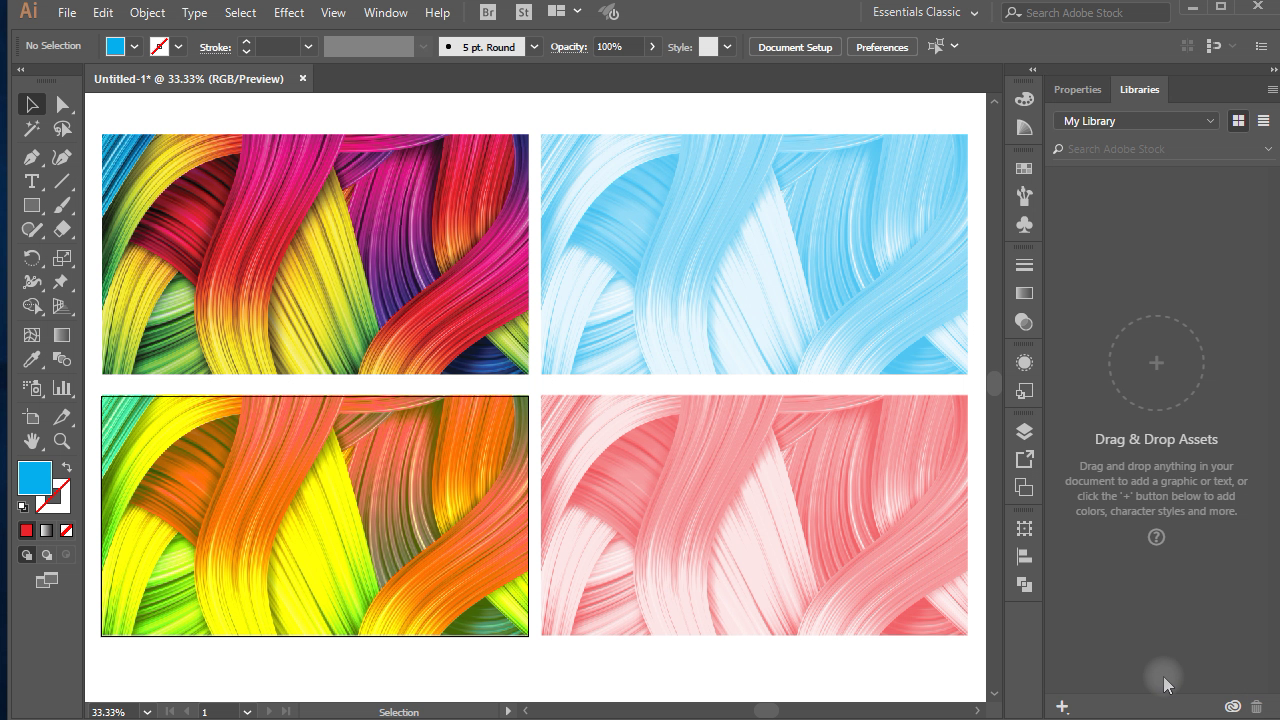 How To Change Colors Of Image In Adobe Illustrator Illustrator Colors Image Tutorial Illustrator Tutorials Adobe Illustrator Tutorials Illustration