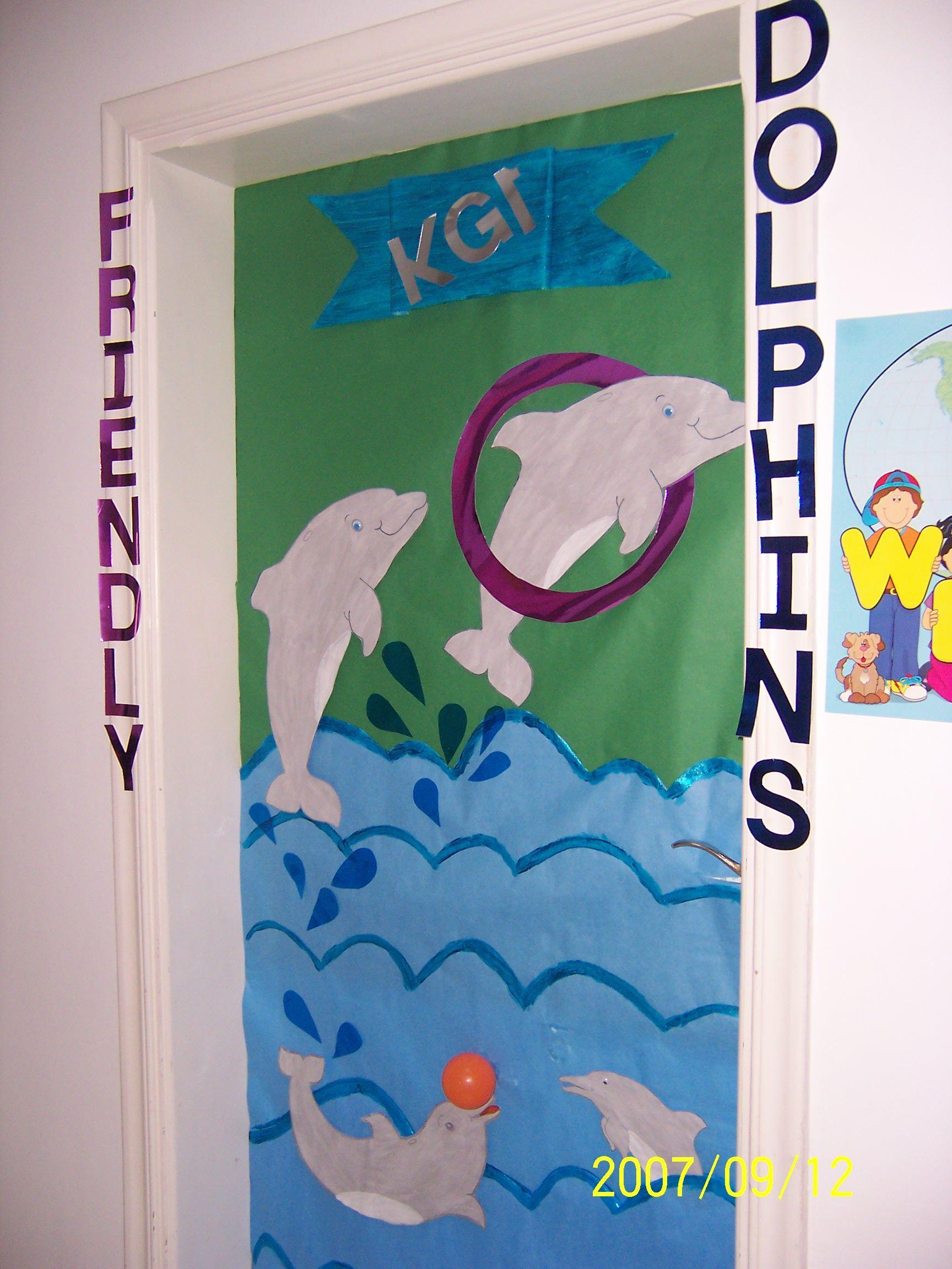the dolphins class | my class | Pinterest | Classroom door