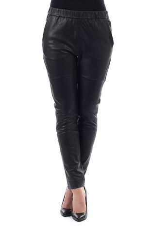 ba9089d5 Skinnbukse fra Designers Remix | Wear | How to wear, Leather pants ...