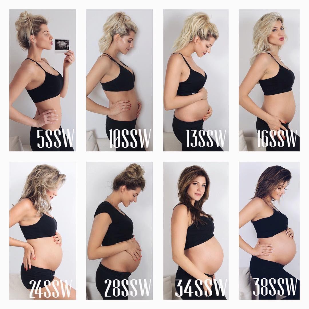 Gewichtszunahme Schwangerschaft 6 Monat