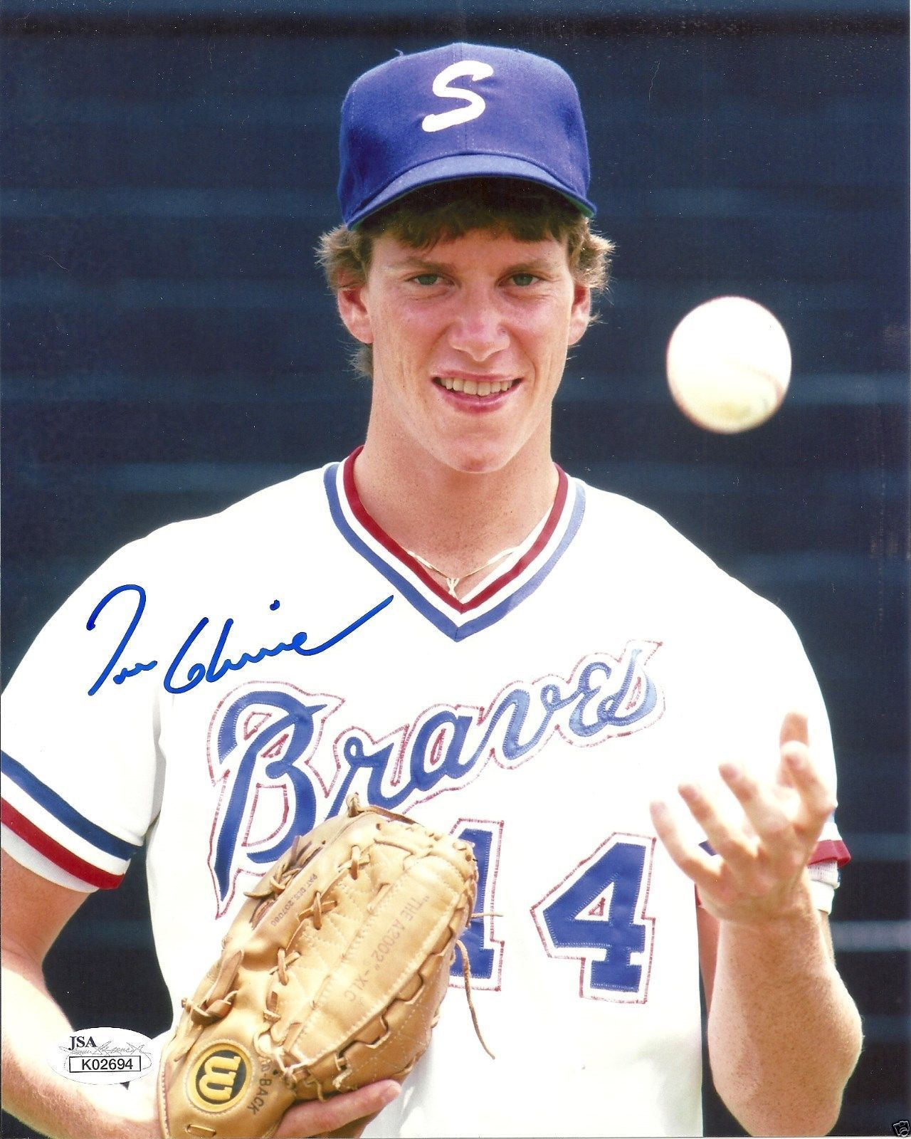 Tom Glavine Of The Atlanta Braves In 1985 Played At Riley Park A Minor League The Sumter Braves Tom Glavine Atlanta Braves Braves