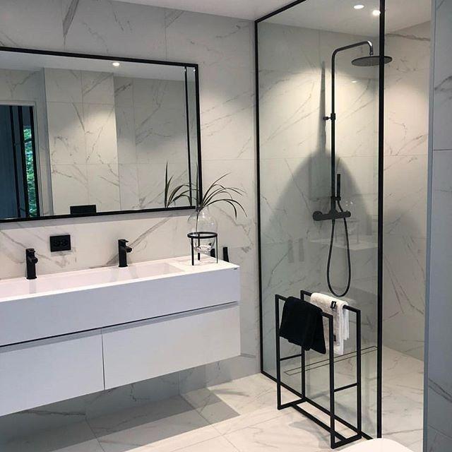 65 kleine badezimmertipps wie man ein kleines bad größer aussehen lässt 37 - Sonia bhojwani #kitchentips
