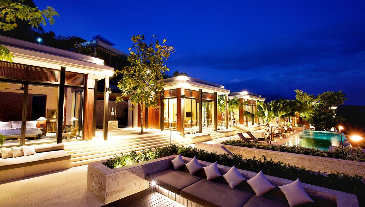 Residences at anantara layan phuket resort in thailand