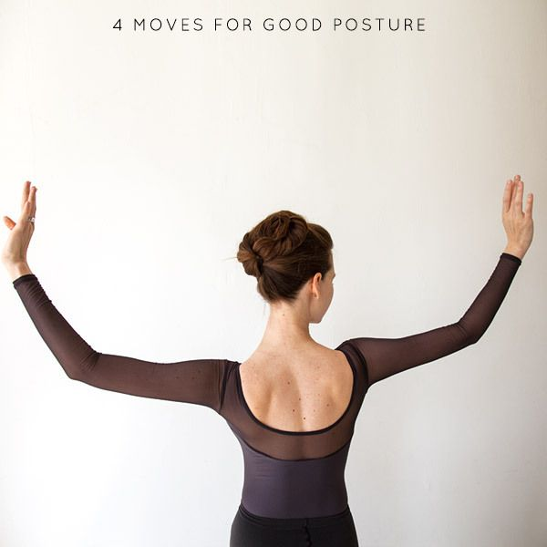 4 Ballet-Inspired Moves to Improve Posture