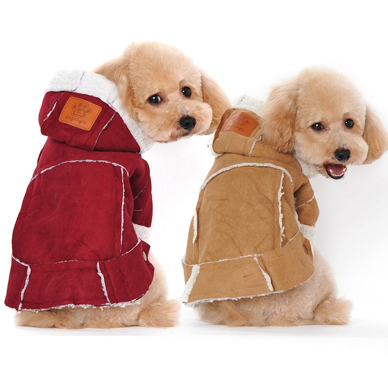 Winter Clothes For Small Dogs Pet Clothing Warm Coat Jacket Dog
