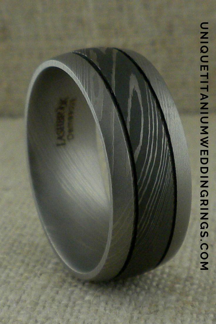 Pin On Unique Titanium Wedding Rings