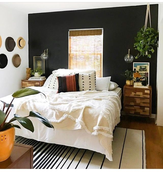 pingl par audrey stephens sur room bedroom bedroom decor et accent wall bedroom. Black Bedroom Furniture Sets. Home Design Ideas