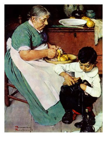 """""""Down-East Ambrosia"""", March 19,1938 Giclee Print by Norman Rockwell at AllPosters.com"""