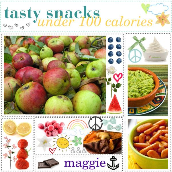 low cal snacks. ♥, created by the-polyvore-tipgirls