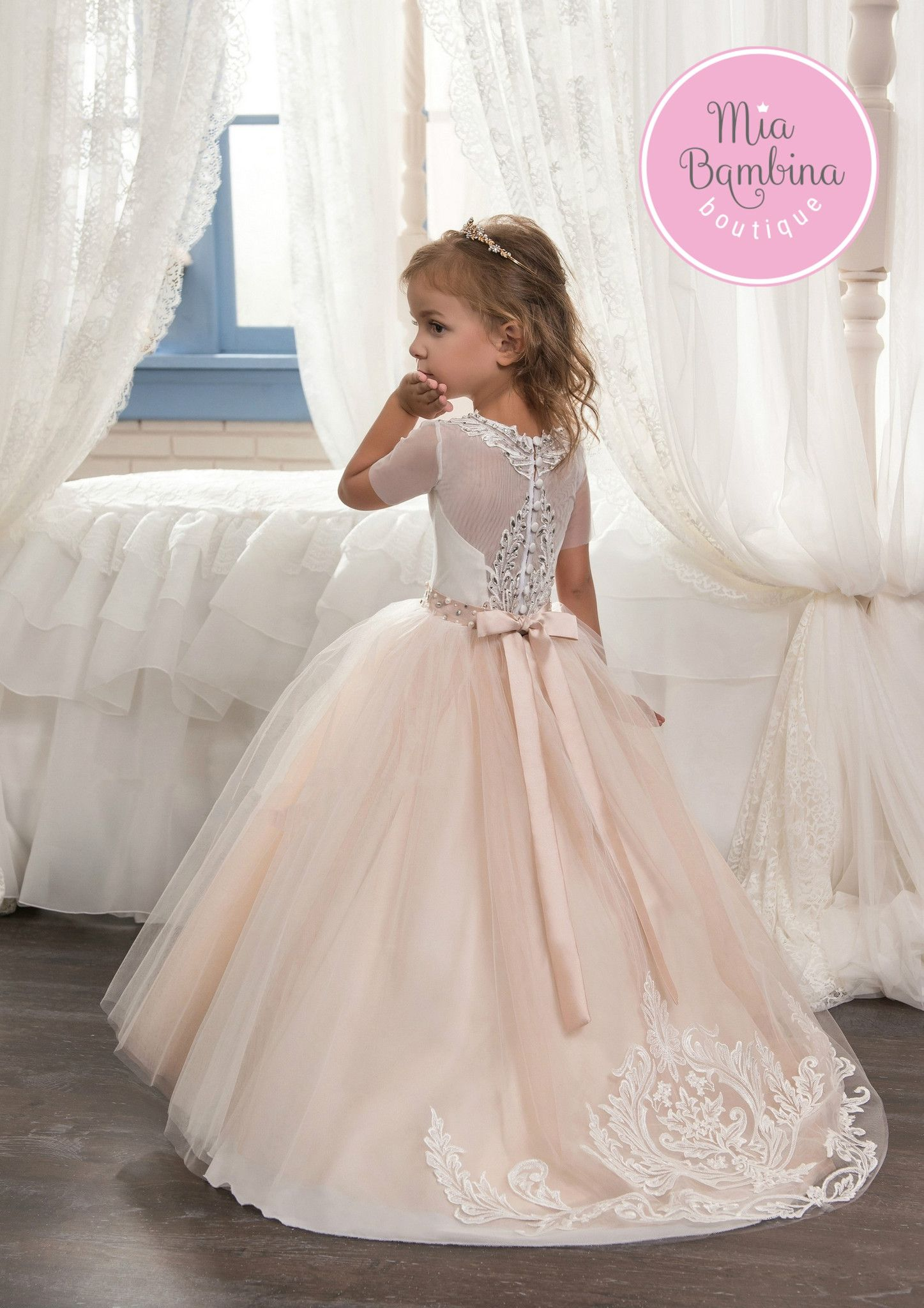 San Jose | Triangle shape, Tulle skirts and Flower girl dresses