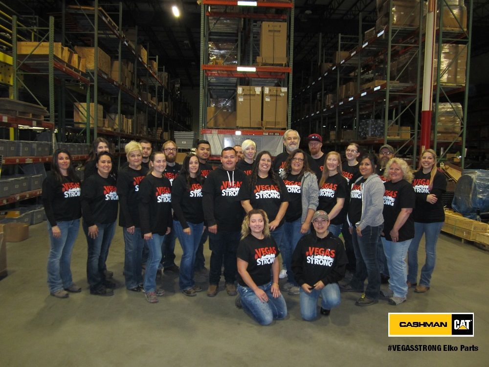 Cashman Cat parts employees in Elko, NV supporting