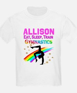 d2c3bfed53cb BEST GYMNAST T-Shirt Personalized Gymnastics Tees and Gifts for your  awesome Gymnast http: