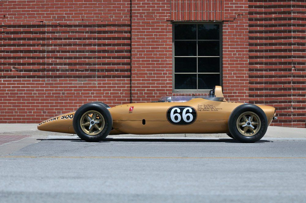 Unconventional, Never Raced - 1968 Shelby Turbine Indy Car For Sale ...