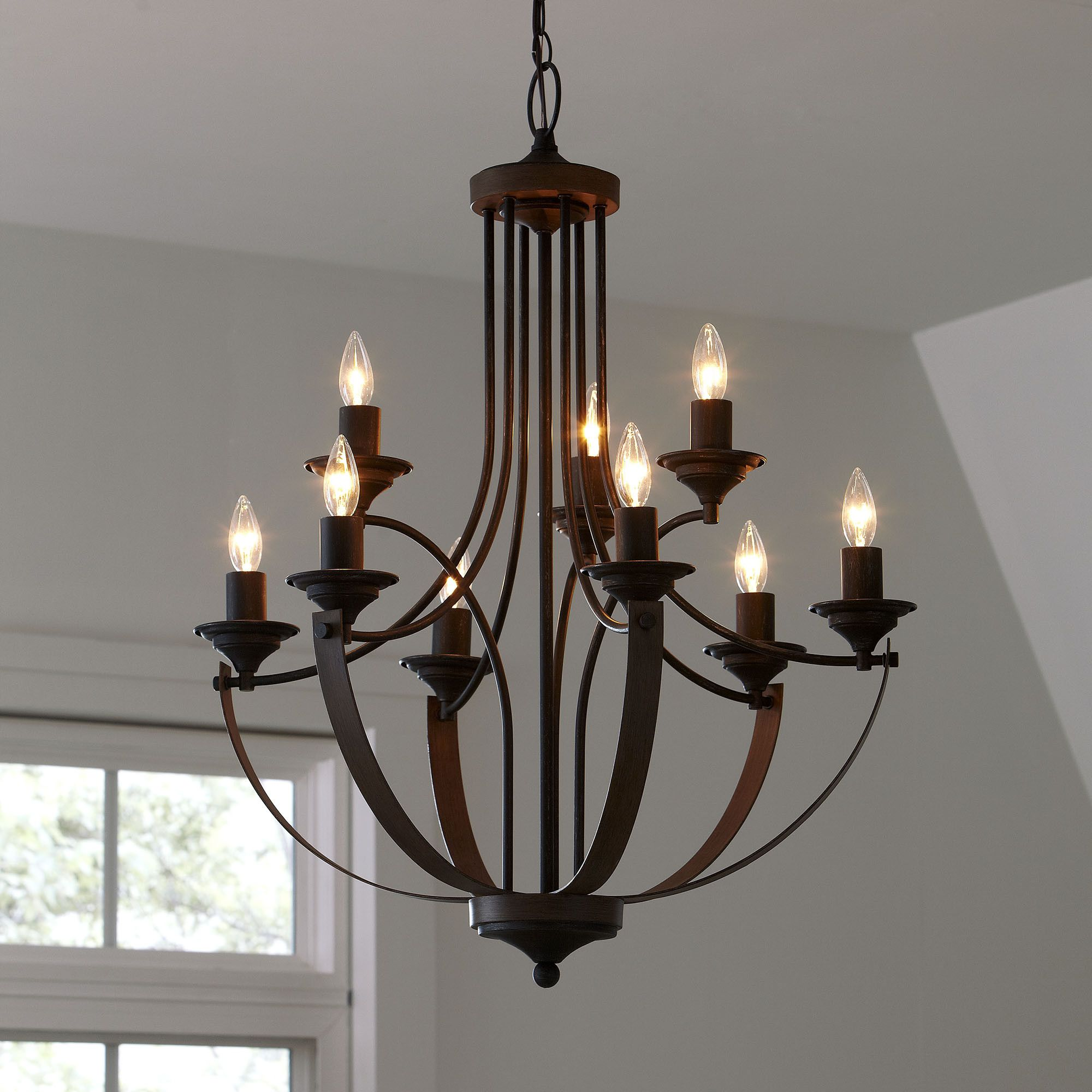 Camilla Chandelier Pure Rustic Elegance This Candelabra Style