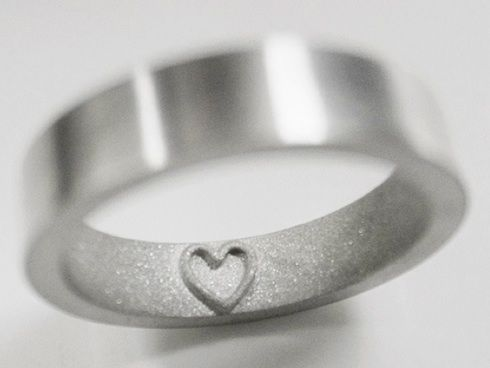 This Ring Leaves A Heart Imprint On Your Finger Finger Ring and