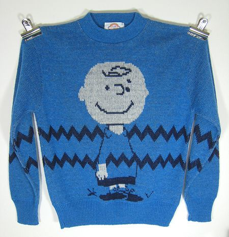 Vintage Charlie Brown sweater | Charlie brown, Brown and Vintage