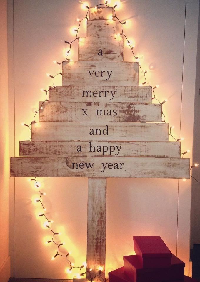 Iluminaci n de rbol c mo iluminar tu casa en navidad - Decoracion navidad vintage ...