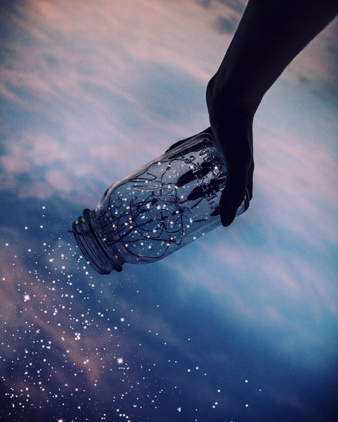 Collecting An Entire Universe Of Dreams Inside A Transparent