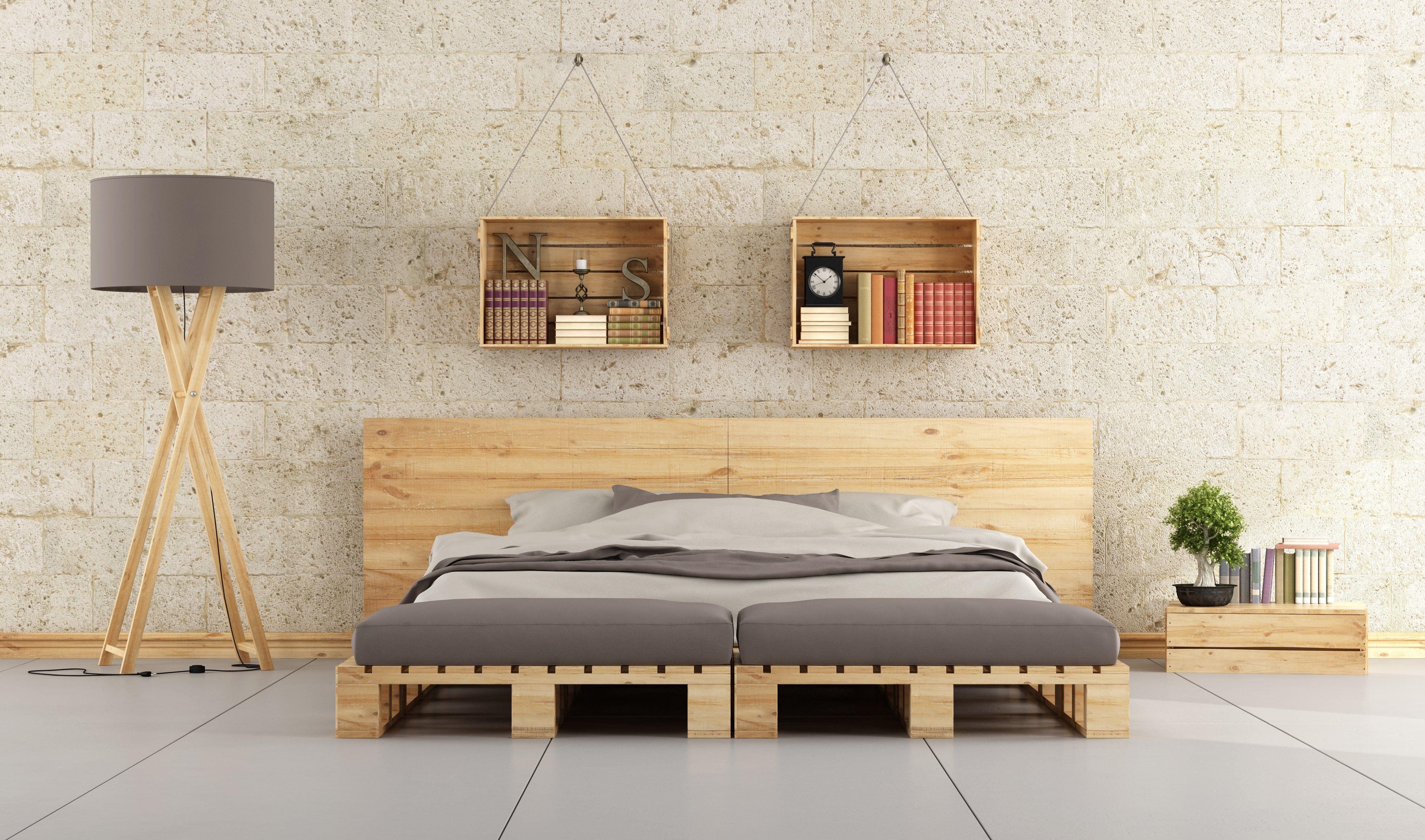 Por último, el rey de los muebles hechos con palet: una habitación ...