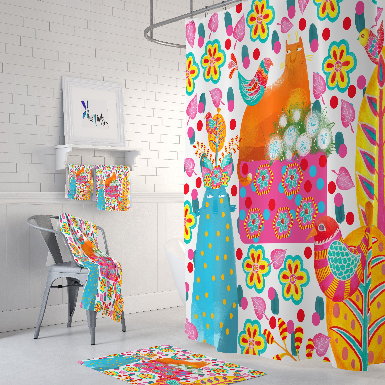 Pin On Frases Folk art bathroom decor