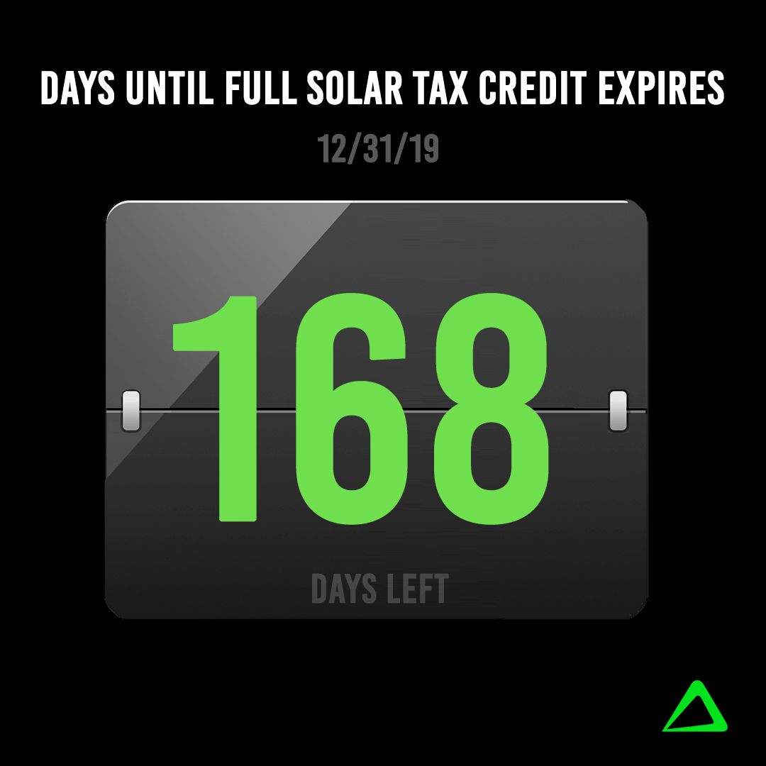Wow The Time Is Flying By There Re Only 168 Days Left To Get The Full 30 Federal Tax Credit Visit Www Tri With Images Solar Companies Cps Energy Solar Power House