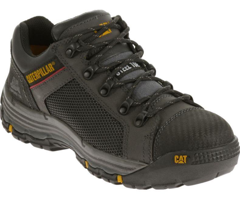 Cat Footwear P90525 Black Convex Lo Steel Toe Work Shoe  eae4fa620