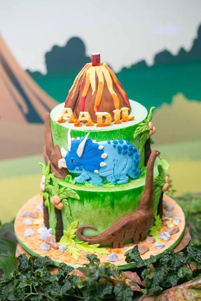 Prehistoric Themed Dinosaur Birthday Party