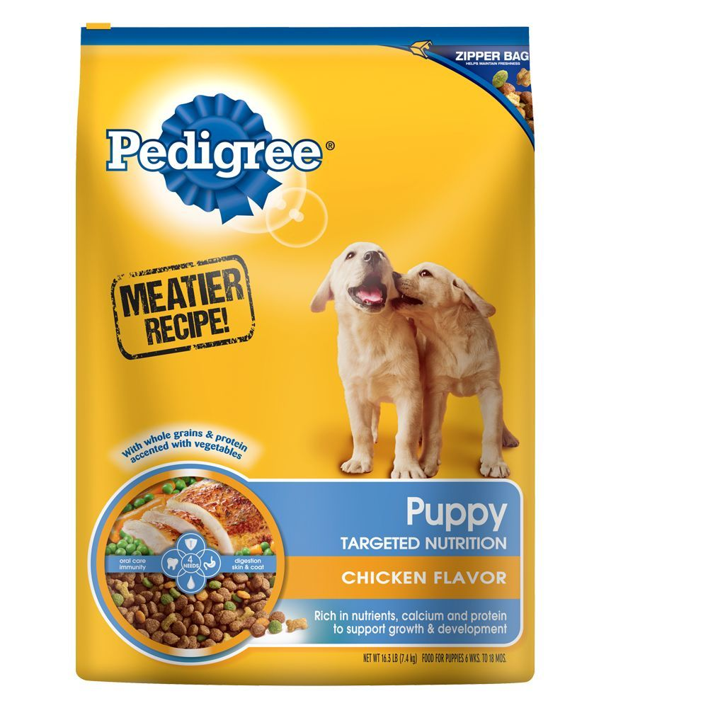 Pedigree Targeted Nutrition Puppy Food Chicken Size 16 3 Lb