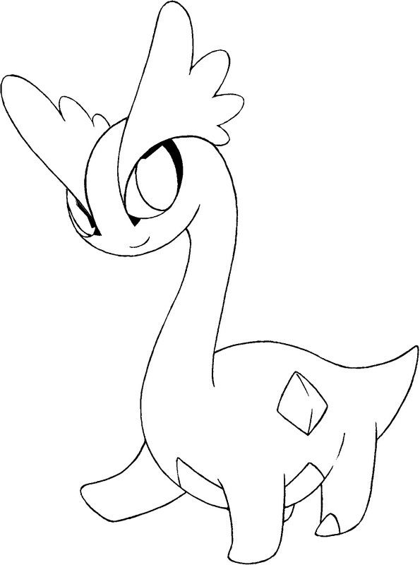 pokemon pencil coloring pages - photo#28