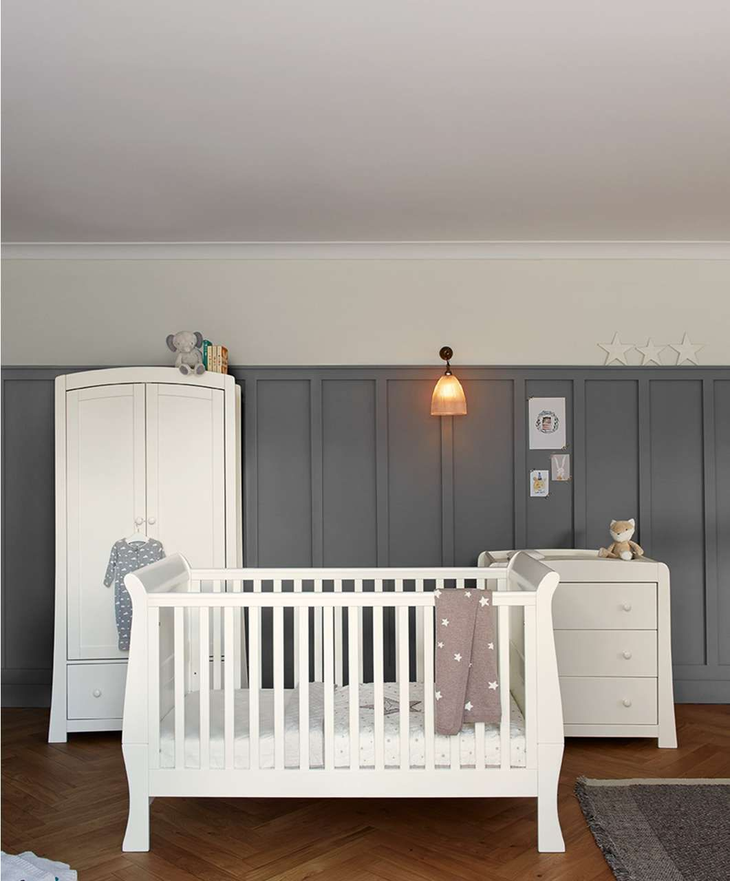 Mia 3 Piece Set Ivory Nursery Furniture Mamas Amp Papas Baby Nursery Furniture Sets