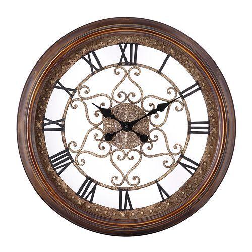 Audrey Wall Clock In 2020 Oversized Wall Clock Large Wall Clock Wall Clock
