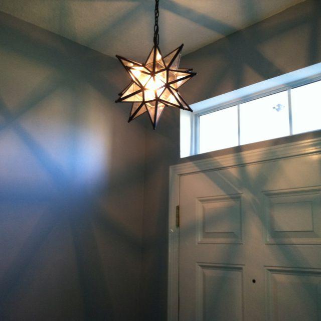 Wine Cellar Light Fixtures: Moravian Star Lighting. A Moravian Star (German