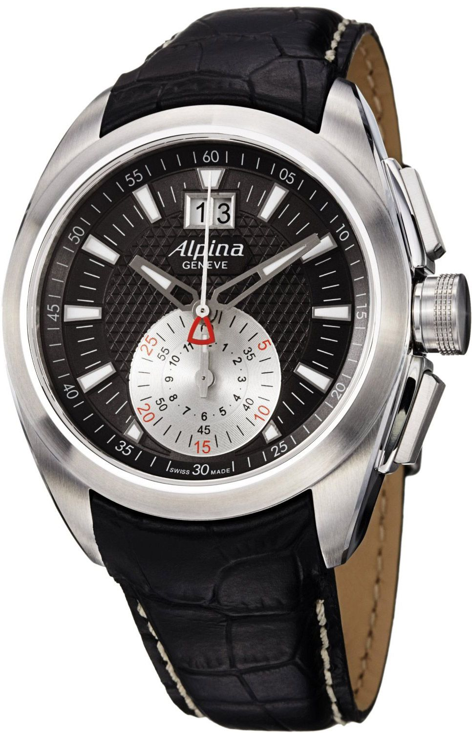 Alpina Club Chronograph Mens Watch Model Al 353bs4rc6 Mens Watches Affordable Alpina Watches Watches For Men
