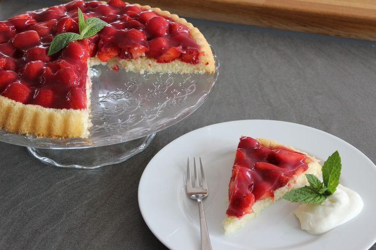 Obstkuchen Grundrezept / Erdbeerkuchen, Noch