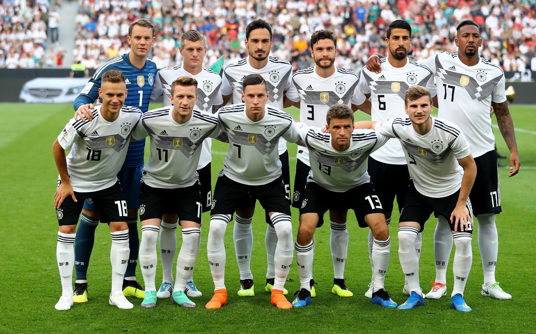 Germany National Team Ready For World Cup 2018 Germany Football Team Germany Football Germany Soccer Team