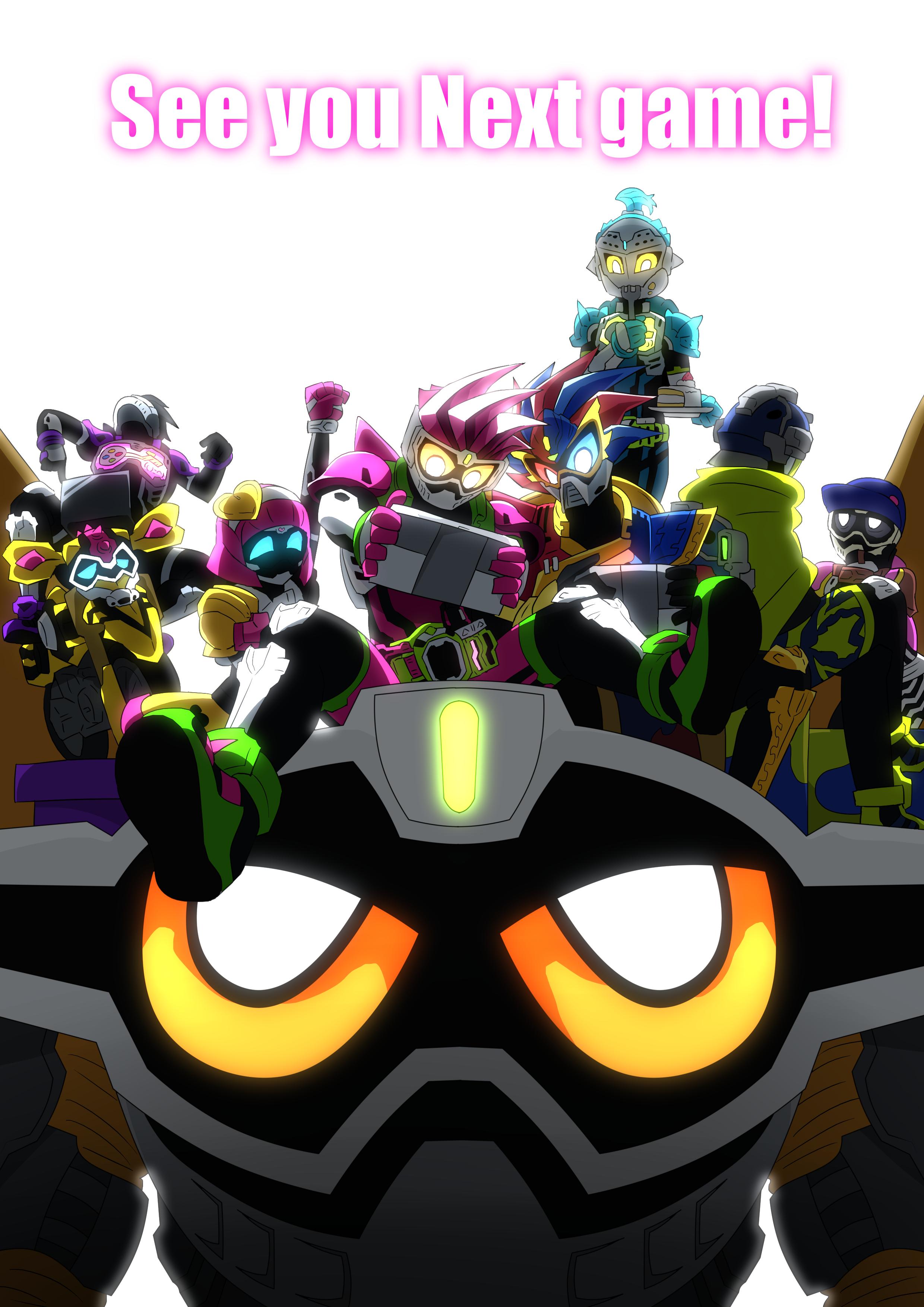 The Kamen Rider Ex Aid Gambar 3d Seni Gambar