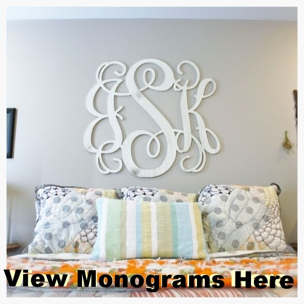 Cheap unfinished wood letters monograms shapes photo frames buy wholesale and save on unfinished wooden letter vine personalized custom monogram wall decor cutout spiritdancerdesigns Images