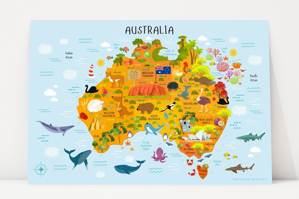 Australia Interactive Map.Are You Looking For A Perfect Interactive Map Of Australia For Kids