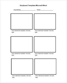 Pdf Ppt Doc Psd Free Premium Templates Storyboard Template Templates Web Design