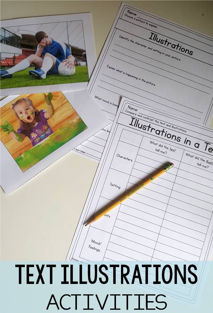 Illustrations in a Text RL37 – Common Core 3rd Grade Worksheets