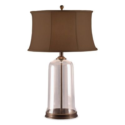 Lighting Brief Webstore Table Lamp With Coffee Colored Sewn Shade Lamp Table Lamp Coffee Colour