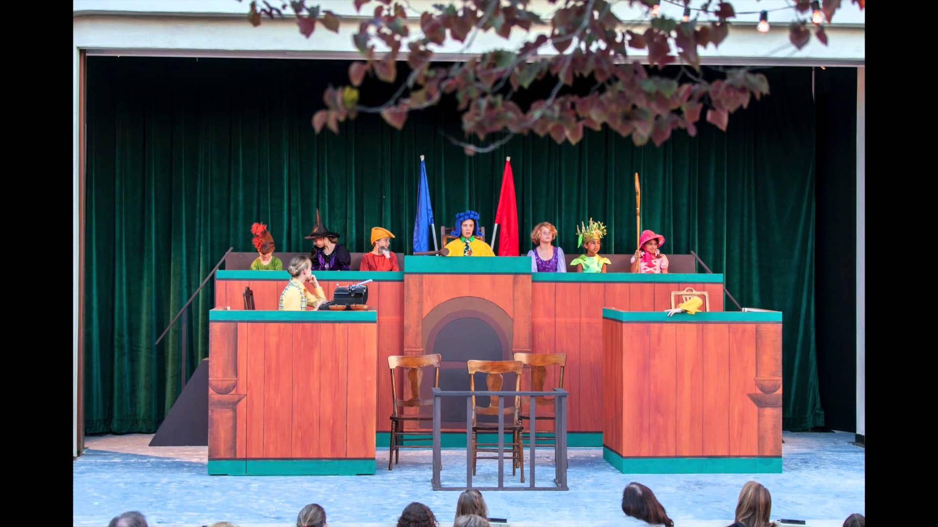 Goldilocks On Trial Palo Alto Children S Theatre