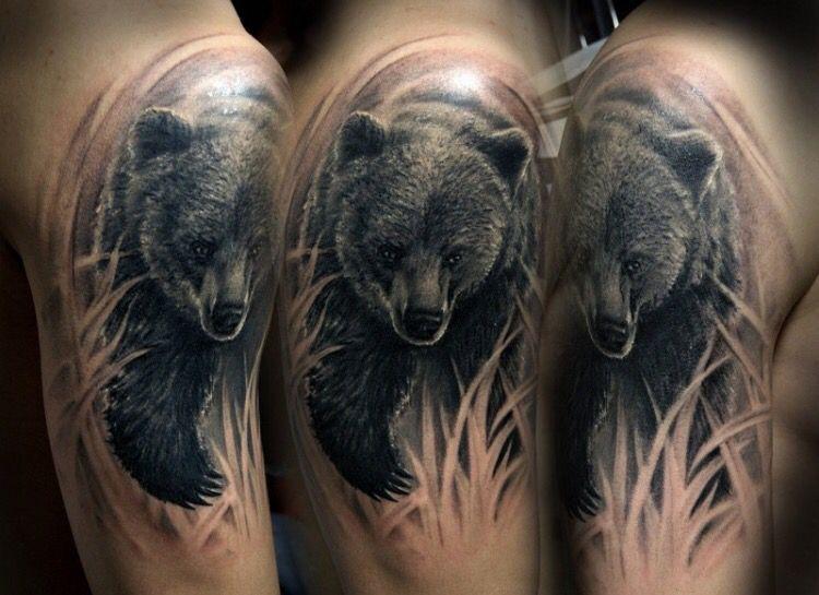 Black Bear Tattoo Bear Tattoos Bear Tattoo Designs Black Bear Tattoo