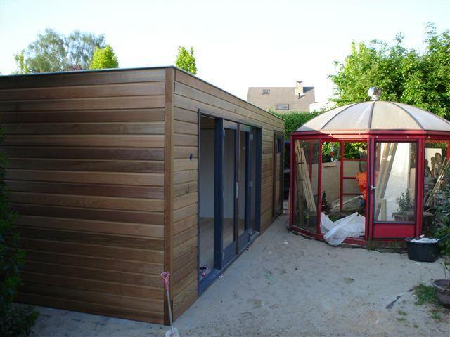 Super Strak modern design tuinhuis | Tuinhuizen, Tuinhuis, Modern design UM-09