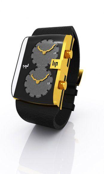 ed8e2968498 Watch for men Hicham Lahlou Design by Hicham Lahlou for LIP ...
