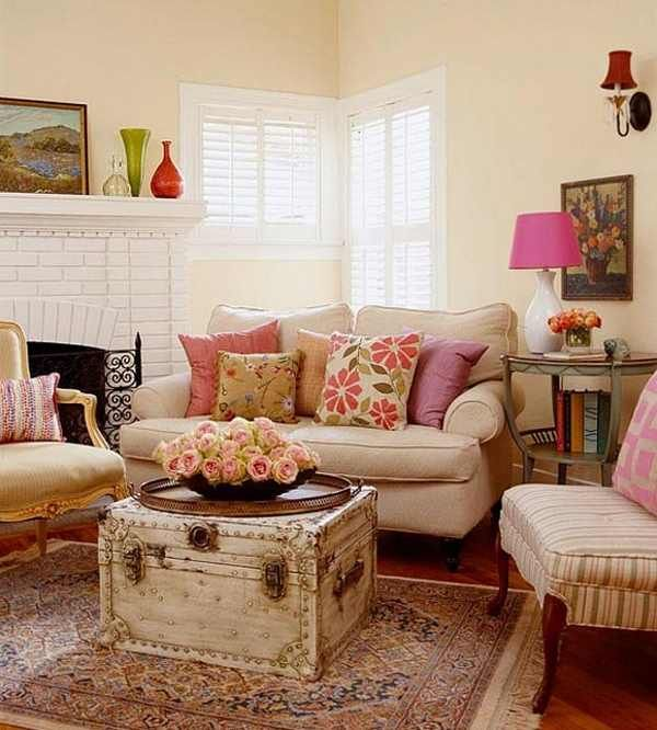 small-living-room-decorating-tips | dream cottage style
