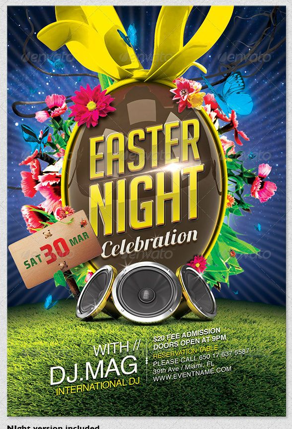 Easter Flyer Template  Psd Templates    Flyer Template