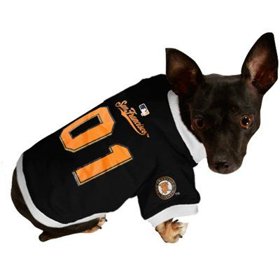 newest collection 49269 466b2 San Francisco Giants Mesh Pet Jersey | 49ers and SF Giants ...