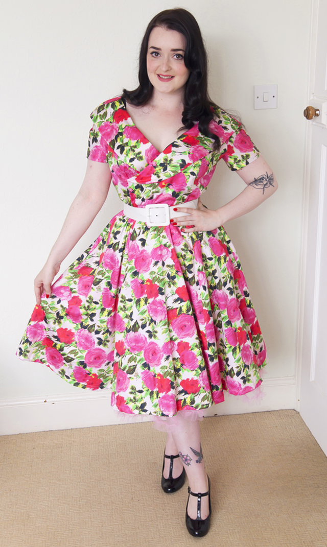 Butterick B5930 - The Ultimate 50s Party Dress! (The Crafty Pinup)